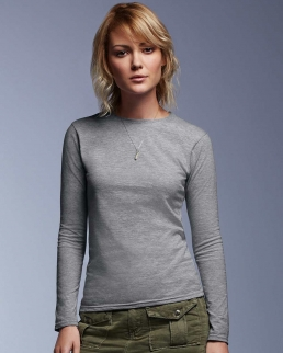 T-shirt donna manica lunga Fashion Basic