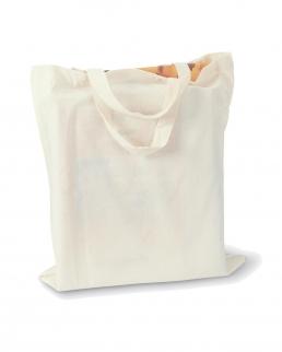 Shopper cotone con soffietto
