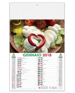 Calendario illustrato Eccellenze italiane