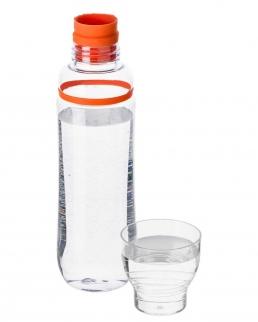 Borraccia in plastica trasparente 750 mll BPA Free