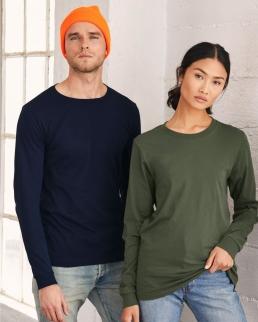 T-shirt Unisex Maniche Lunghe Jersey