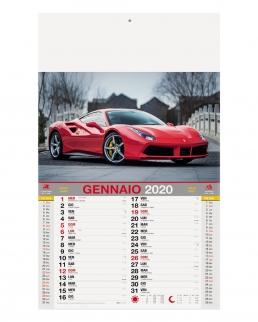 Calendario Auto 12 fogli