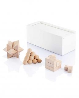 Set rompicapo 3 pezzi