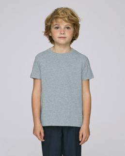 T-shirt in cotone organico Mini Stanley Paints heather