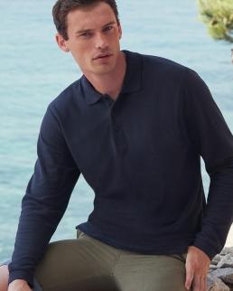 Polo Premium manica lunga