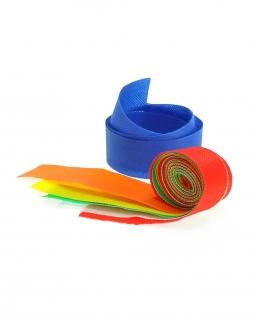 Nastri colorati per cappelli in paglia