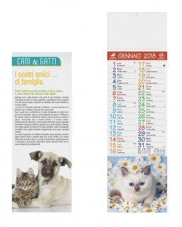 Calendario Silhouette Cani e Gatti