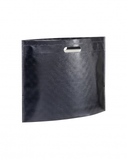 Shopper in TNT laminato metallizzata