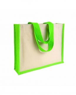Shopper in juta e canvas