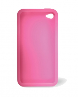 Custodia colorata in silicone per iPhone® 4 o4s.
