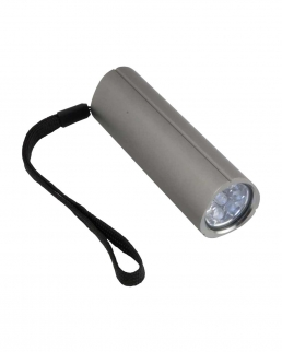 Torcetta in alluminio a 9 led
