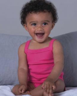 Body Baby Organic Strap Vest
