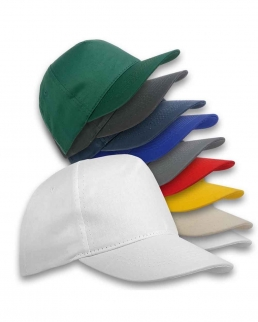 Cappellino Extra lusso a 5 pannelli in cotone