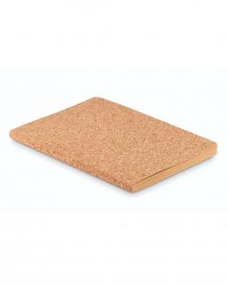 Notebook A5 in sughero con copertina morbida
