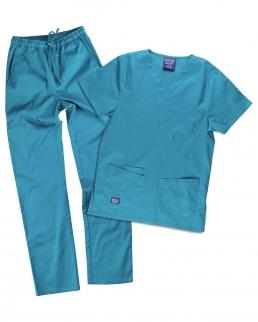 Kit pantalone e casacca unisex elasticizzato