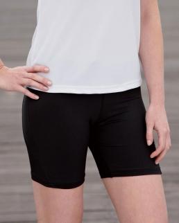 Pantaloncini aderenti corti da corsa donna