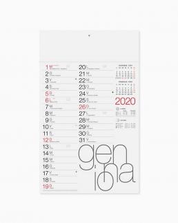 Calendario olandese Moderno