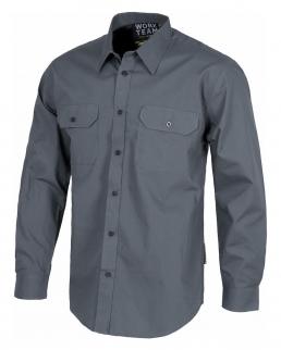 Camicia da lavoro 2 tasche sul petto