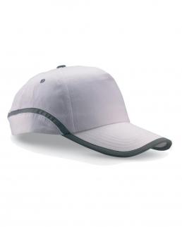Cappello con bordatura riflettente