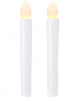 Set candele Floyd con LED 2 pezzi