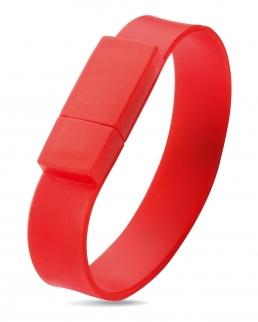 Silicone wrist band USB 2Gb