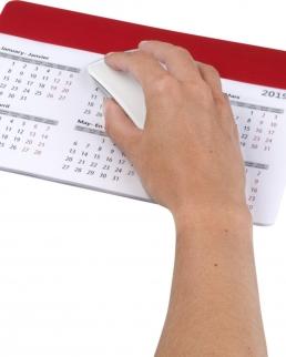 Tappetino per mouse con calendario Chart