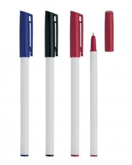 Penna con cappuggio colorato