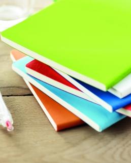 Notebook formato A5 in PU morbido