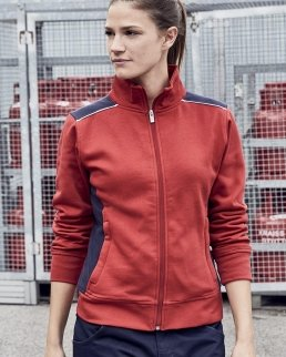 Felpa da lavoro con zip Sweat-Level 2 - Donna