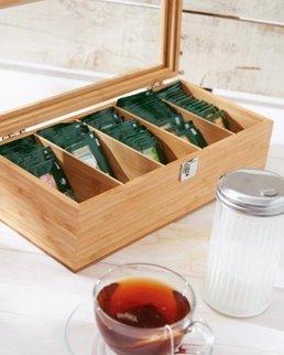 Porta scatole da tè TEA LOUNGE