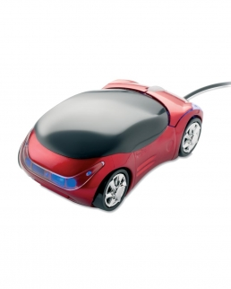 Mouse ottico USB a forma di automobile