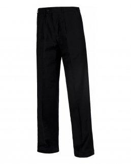 Pantalone diritto di uomo con pinze