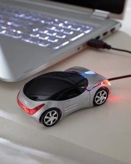 Mouse ottico USB PC TRACER