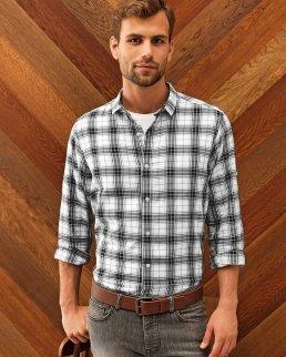 Camicia a maniche lunghe da uomo - Ginmill Check