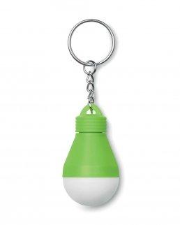 Portachiavi lampadina con torcia