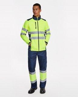 Pantaloni multitasca invernale alta visibilità Soan