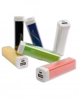 POWER BANK con cavo standard 2200 mAh