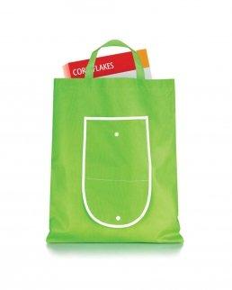 Shopper richiudibile chiusura con bottone