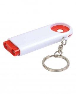 Portachiavi/portamoneta con luce