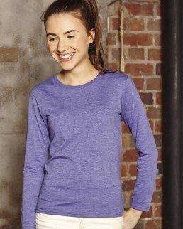 T-shirt bambina HD maniche lunghe