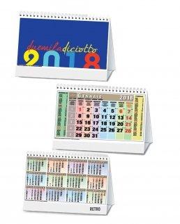 Calendario trimestrale da tavolo 13 fogli