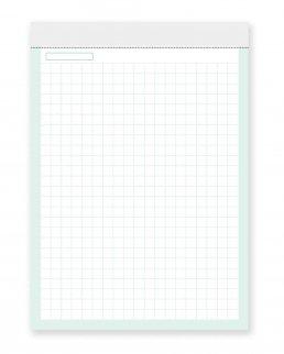 Block-Notes 50 fogli a quadri