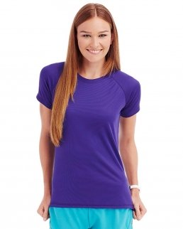 T-shirt con girocollo Active 140 Raglan