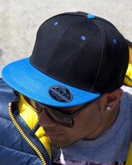 Cappellino visiera piatta in contrasto Bronx Original