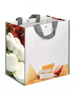 BORSA SHOPPING CON SOFFIETTO DAIRYBOX