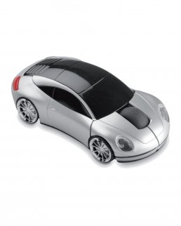 Mouse wireless a forma di automobile