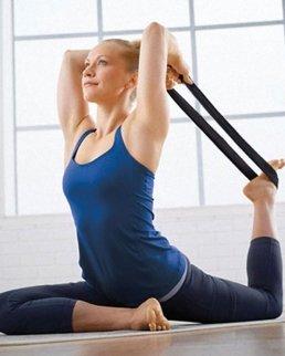 Set fitness con tappetino yoga