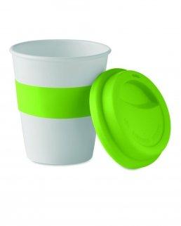 Bicchiere singolo strato in PLA di mais 350 ml
