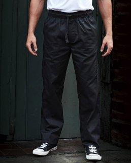 Pantaloni da cuoco con girovita elastico