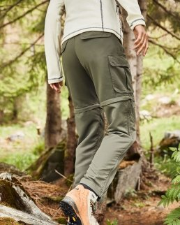 Pantaloni donna da trekking 2 in 1